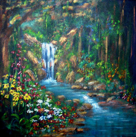 In the beginning god lyndeutsch River flowing from the garden of eden